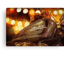 Harley Davidson XL1200V Seventy Two Canvas Print
