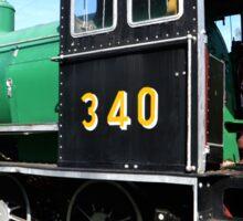 steam train Sticker