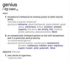 Who is a genius ? by santoshputhran
