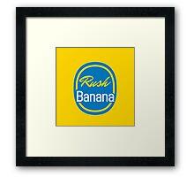 Chiquita Rush Banana Framed Print