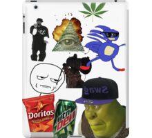 Dank MLG funny MEME iPad Case/Skin