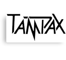 Tampax Canvas Print
