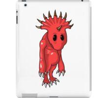ten horns cute demon iPad Case/Skin