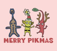 Pikmin - Merry Pikmas One Piece - Long Sleeve