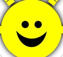 I feel good (Yellow Sun) Sticker