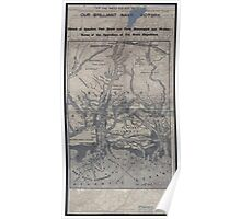 Civil War Maps 1908 War maps and diagrams 02 Poster