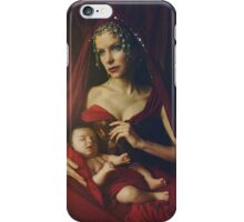 mary & baby girl iPhone Case/Skin