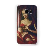 mary & baby girl Samsung Galaxy Case/Skin