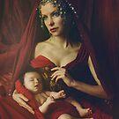 mary & baby girl by jamari  lior