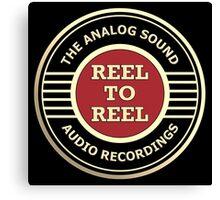 Wonderful Reel To Reel Audio Recording Canvas Print