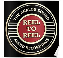 Wonderful Reel To Reel Audio Recording Poster