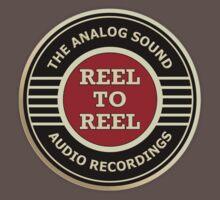 Wonderful Reel To Reel Audio Recording One Piece - Short Sleeve