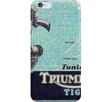 Triumph Tiger 100 iPhone Case/Skin