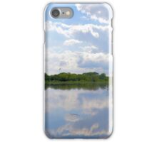 Iowa Flood Plains Panorama iPhone Case/Skin