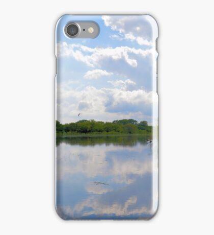 Iowa Flood Plains Panorama iPhone Case/Skin