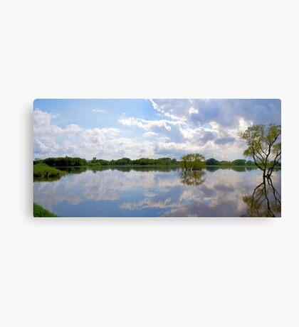 Iowa Flood Plains Panorama Canvas Print