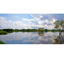 Iowa Flood Plains Panorama Photographic Print