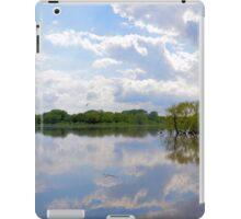 Iowa Flood Plains Panorama iPad Case/Skin