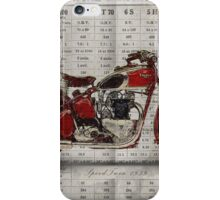 Triumph Speed Twin 1939 iPhone Case/Skin