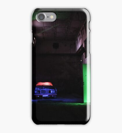 25.12.2015: Light Painted Scrap Car iPhone Case/Skin