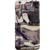 Triumph Bonneville Engine iPhone Case/Skin