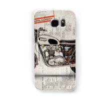Triumph Bonneville t120 1966 Samsung Galaxy Case/Skin