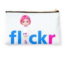 F L I C K R <3 love Studio Pouch