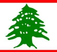 Flag of Lebanon Sticker