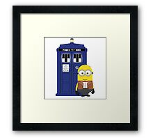 Police Box Minion Framed Print