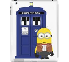 Police Box Minion iPad Case/Skin