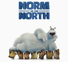 Norm Of The North Animation  Kids Tee