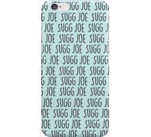 Joe Sugg x 1000 In Pastel Blue iPhone Case/Skin