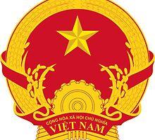 Emblem of Vietnam by abbeyz71