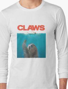 Sloth Claws Parody Long Sleeve T-Shirt