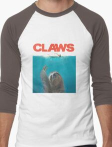 Sloth Claws Parody Men's Baseball ¾ T-Shirt