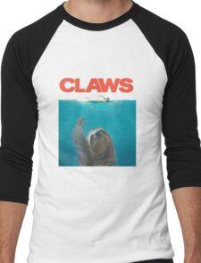 Sloth Claws Parody Men's Baseball ¾ T-Shirt