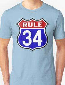 Rule 34 T-Shirt