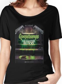 Monster Blood 3 Goosebumps Story Women's Relaxed Fit T-Shirt