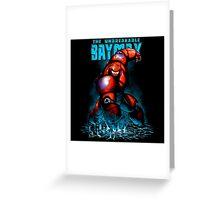 Baymax Big Hero Greeting Card