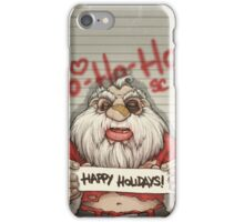 Busted Xmas iPhone Case/Skin