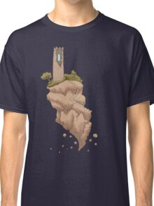 Floating Tower Island Begin Again Classic T-Shirt