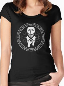 Anonymous seal  Women's Fitted Scoop T-Shirt