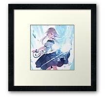 Kawaii Anime Girl Framed Print