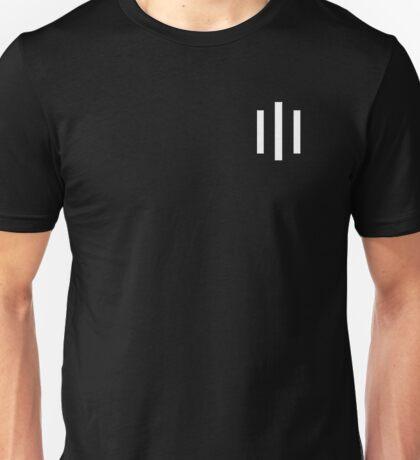 Triple One - Logo WHITE Unisex T-Shirt