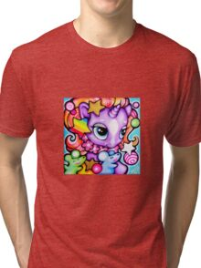 Purple pony Tri-blend T-Shirt