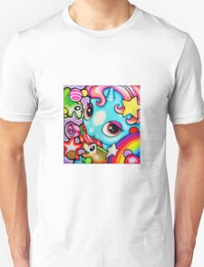 Blue pony Unisex T-Shirt