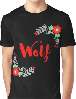 Wolf - The Lunar Chronicles - Black Graphic T-Shirt