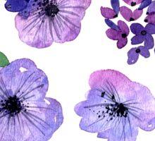 Floral set. Sticker