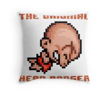 Bonk's Adventure original head banger Throw Pillow