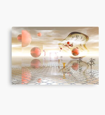 Reflections on reality Canvas Print